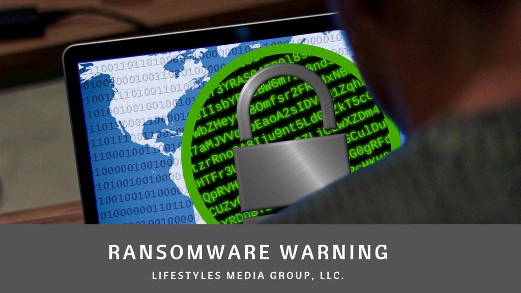 beware of ransomware